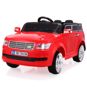 12V-Kids-Ride-On-Car-W-MP3-Electric-Battery-Power-Remote-Control-RC-Red