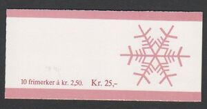 Norway-1986-Christmas-Booklet-of-10-x-2k50-stamps-MNH-SG-SB76