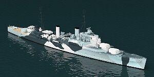 HMS JAMAICA 1942 1 700