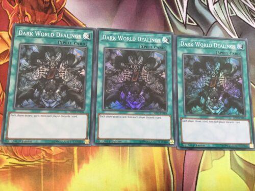 x3 Dark World Dealings MYFI-EN054 Super Rare Yu-Gi-Oh Card 1st Edition
