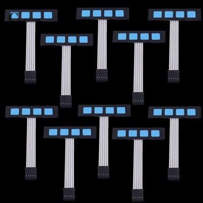 3 Tasten Modul 10Pcs 1x3 Matrix Array 3Key Folientastatur Tastatur 1