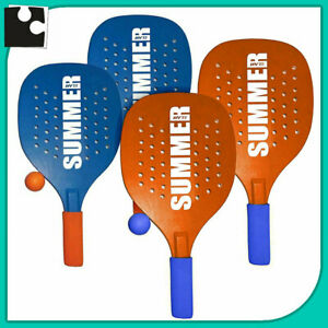 Details about Beach Tennis Couple Rackets Mens Beach Of Wood beach Tennis  Racket + 1 Ball