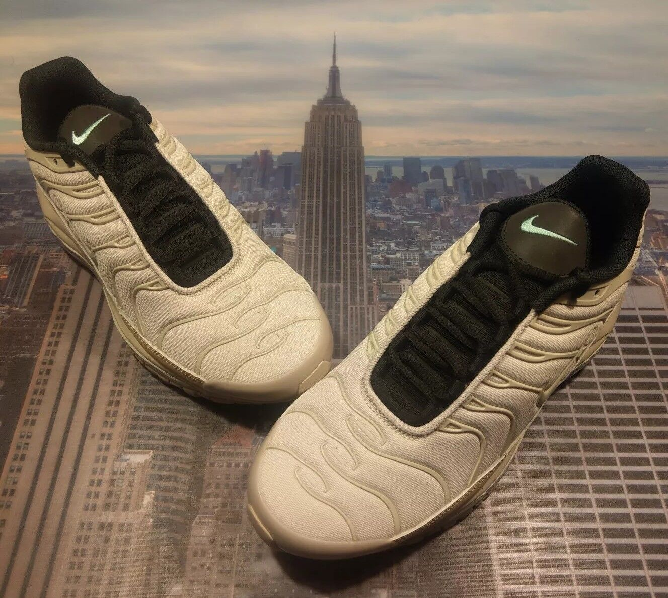 Nike Air Max 97   Plus Light Orewood Brown Rattan Size 9.5 AH8144 101 New 95 90