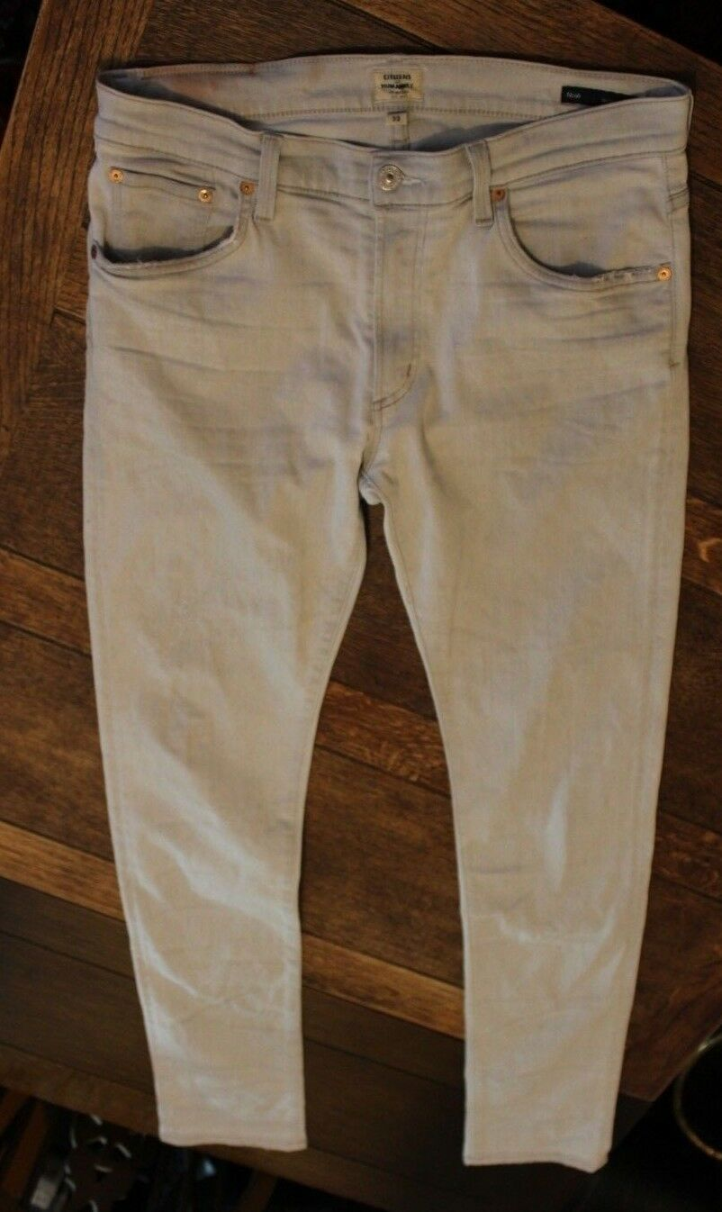 Citizens of Humanity Noah Super Skinny Mens Jeans Size 33 33  34