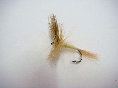3 x mouches sedges ailés H10 fliegen mosca flies