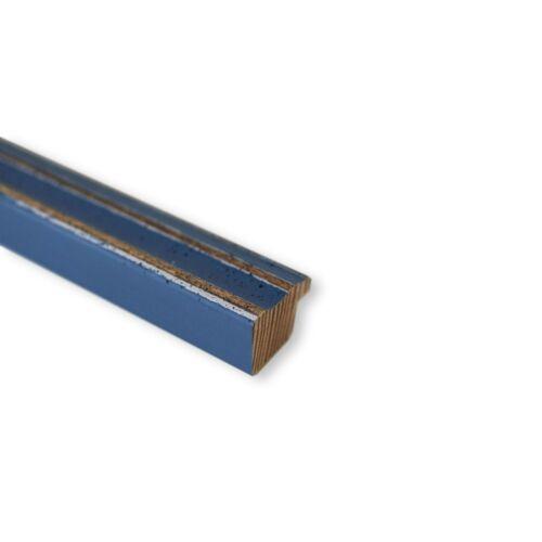 DIN A2 DIN A3 DIN A4 DIN A5 Bilderrahmen hell Blau Holz Cosenza 2,0