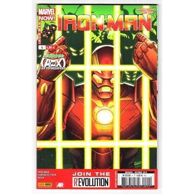 Actief Iron Man (marvel France - 4° Série) N° 4 - Comics Marvel