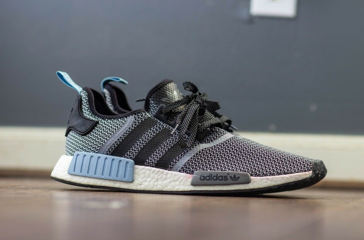 huge selection of c695a f1f1f Adidas NMD R1 Clear bluee Size 12.5