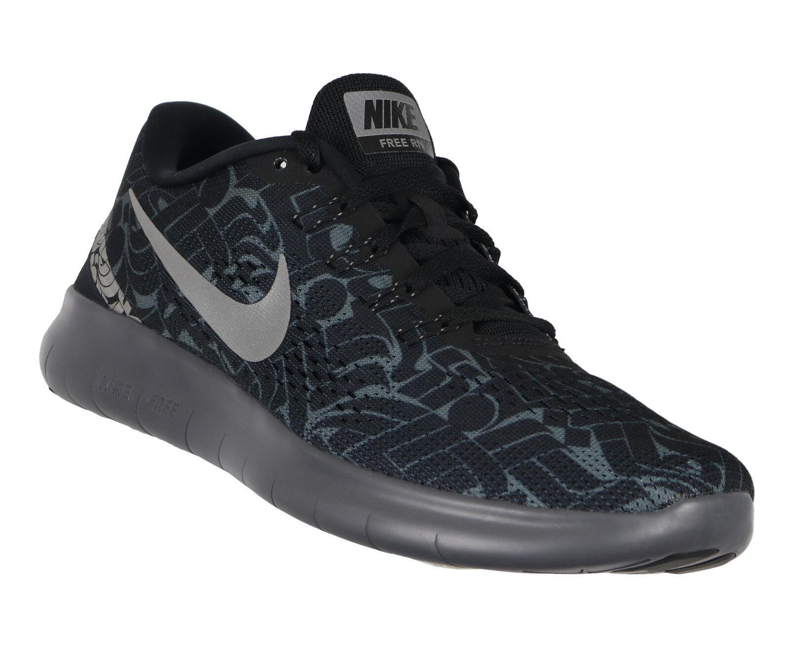 Zapatos casuales salvajes Barato y cómodo Nike Para Dama Free-run x rostarr Zapatillas Correr Talla 9.5 Negro Reflectante