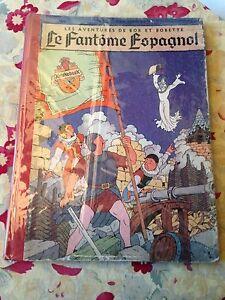 le-fantome-espagnol-1956-vandersteen-les-av-de-bob-et-bobette-dos-toile-rouge
