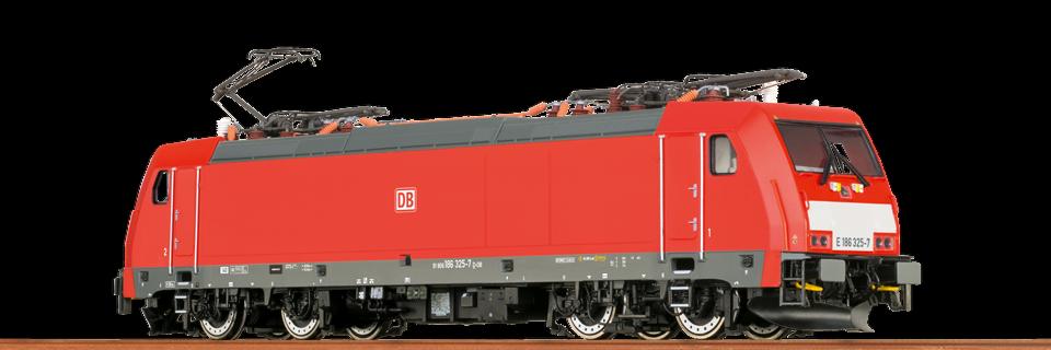 BRAWA 43928 E-Lok TRAXX BR 186 DB AG EPOCA VI corrente continua DC h0 NUOVO & OVP