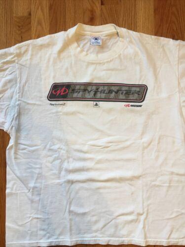 Vintage 01 Spy Hunter Game Promo T Shirt Ps2 Plays