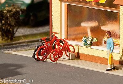 Instancabile 8 Biciclette, Faller Modello Kit Di Costruzione Miniature H0 (1:87), Art.