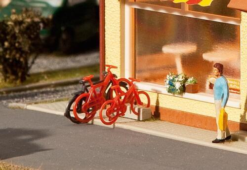 Faller kit modello Mondi Miniatura h0 1:87 Art 8 biciclette 180901