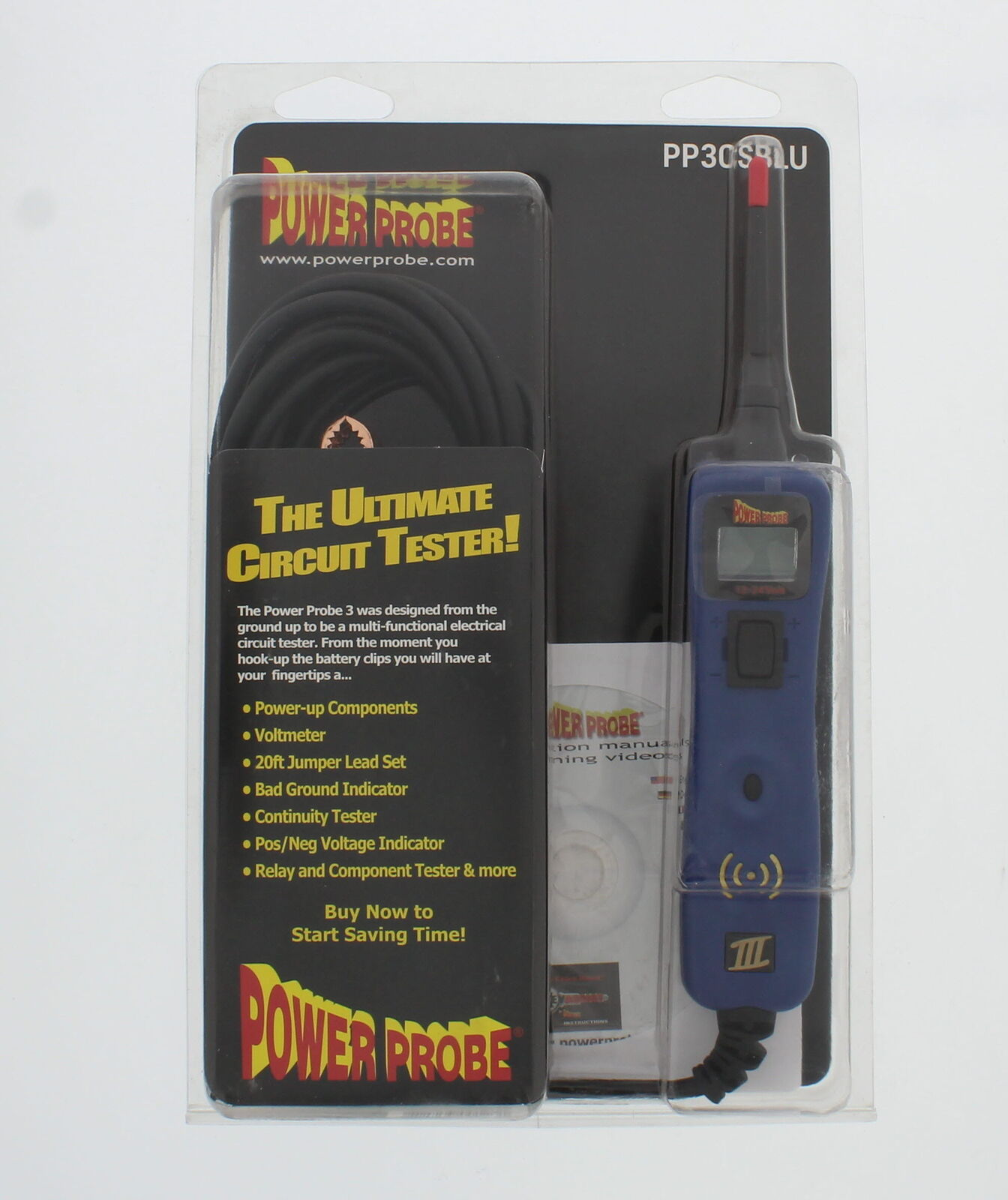 Power Probe 3 Pp3csblu Blue Test And Diagnostic Tool Ebay Details About Sealey Pp1 Auto 12v Electrical Circuit Tester