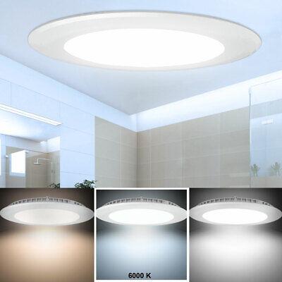 LED Panel Decken Einbaustrahler Tageslicht Leuchte Alu Lampe Durchmesser 14,5 cm