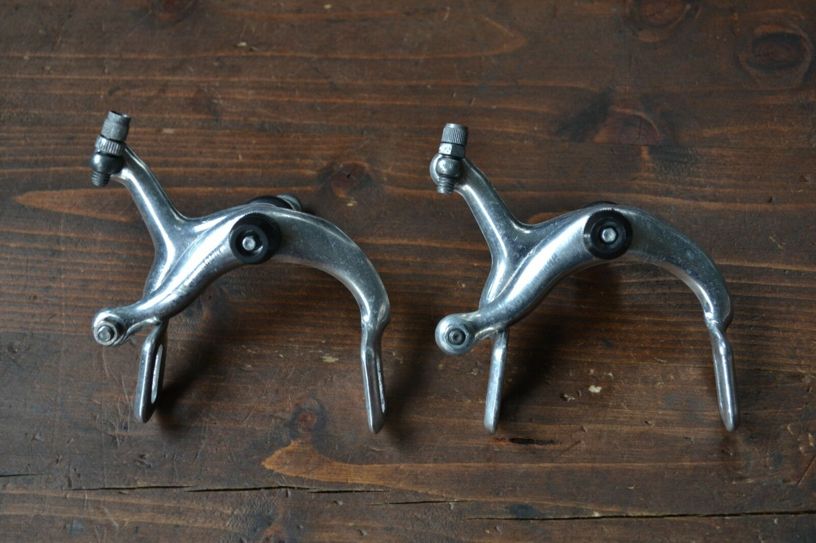 Vintage Weinmann 570 Side Pull Brake Calipers Pair - Recessed Allen Bolt