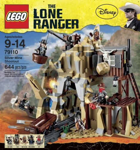 Lego The Lone Ranger Silver Mine Shootout 79110
