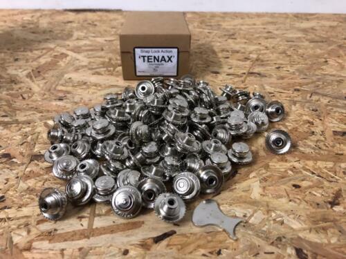 Unterteile 100 x TENAX Oberteil Edelstahl Druckknopf auch für alle Loxx