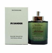 JILSANDER BACKGROUND FOR MEN EAU DE TOILETTE NATURAL SPRAY 125 ML / 4.2 OZ. (T)