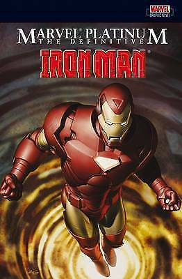 1 of 1 - Marvel Platinum: The Definitive Iron Man by Stan Lee (Paperback, 2008)