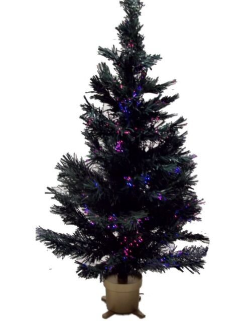Holiday Time 32 inch Fiber Optic Christmas Tree - Holiday Time 32 Inch Fiber Optic Christmas Tree EBay