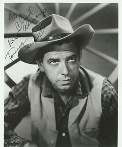 Tommy-Farrell-Actor-Vintage-B-amp-W-Photograph-Signed