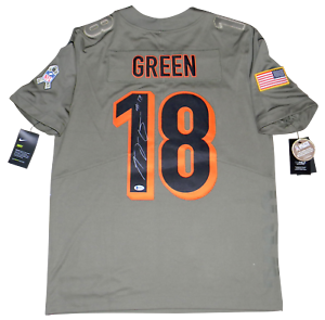 aj green signed jersey