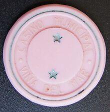 Chile Casino Chip Casino Municipal de Viña del Mar 2 Star rosa