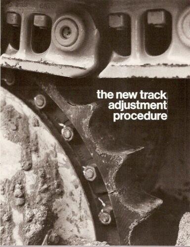 Equipment Brochure - Caterpillar - New Track Adjustment Procedure (E1021)