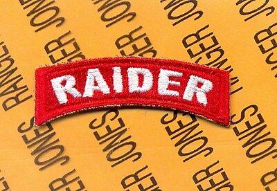 US Army GHQ Ground Headquarters RAIDER tab arc patch