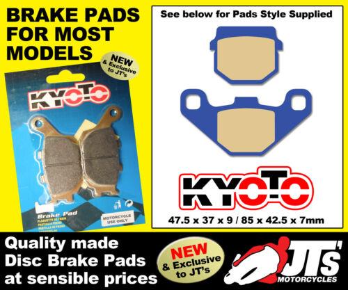 FRONT SET OF DISC PADS BRAKE PADS FOR KAWASAKI KX100 KX 100 A1 A2 B1-B6 89-96