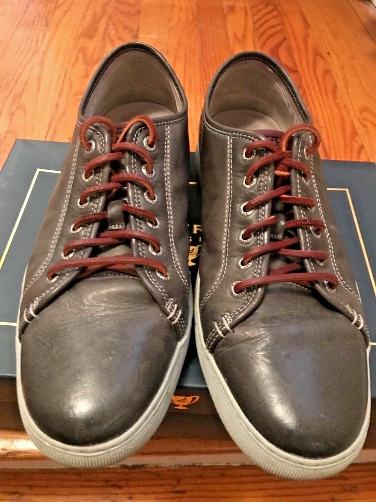 Gray Leather Causal Sneakers Sperry Top-Siders Men sz12 M