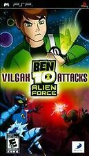 Ben 10: Alien Force -- Vilgax Attacks (Sony PSP, 2009) DISC IS MINT