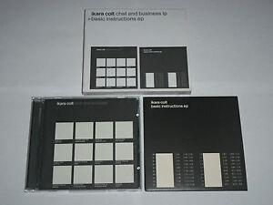 Ikara-Colt-Chat-And-Business-LP-Basic-Instructions-EP-2-x-CD-Box-Set