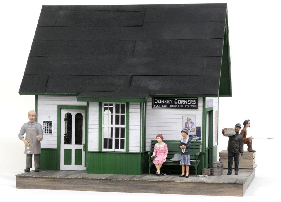 F/G scale  BANTA MODEL WORKS  8108 Donkey Corners Depot