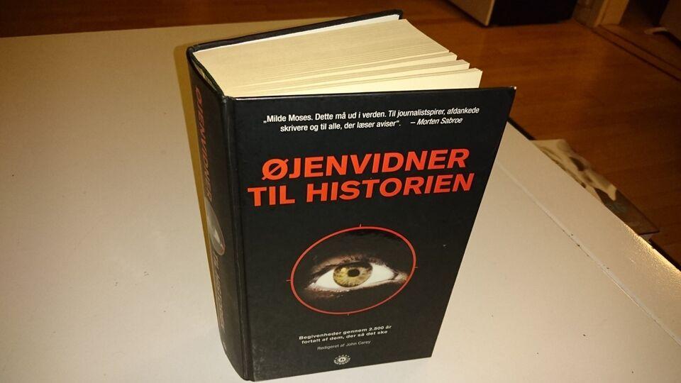 Øjenvidner til historien, emne: historie og samfund