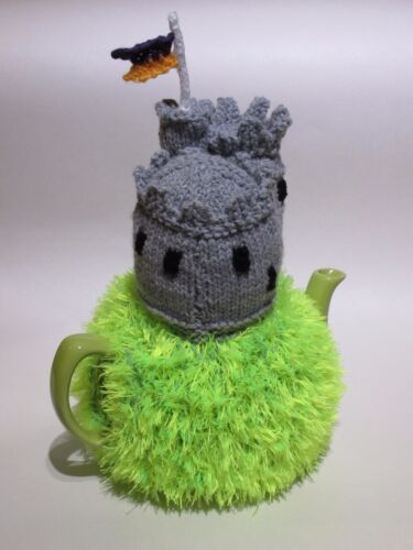 Medieval Castle Tea Cosy Knitting Pattern to Knit You Own!