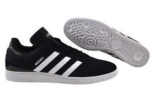 Dettagli su Adidas Busenitz BlackBiancoArgento SneakersScarpe F37347 Nero