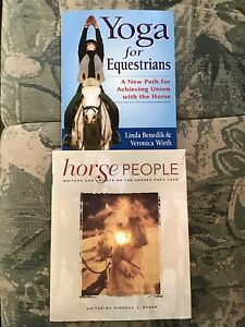 yoga for equestrians  horse people hb books  ebay