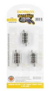 Brand-New-Bachmann-N-EZ-Track-Gray-QTR-SECTION-17-5-034-RADIUS-44835-TOTE1
