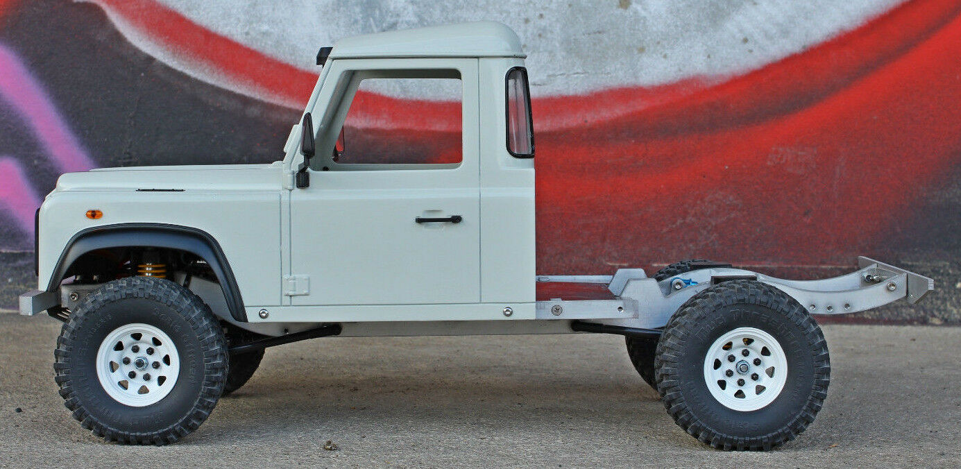 NEW Land Rover Defender D90 Cab Hardbody for Axial SCX10 RC4WD ...