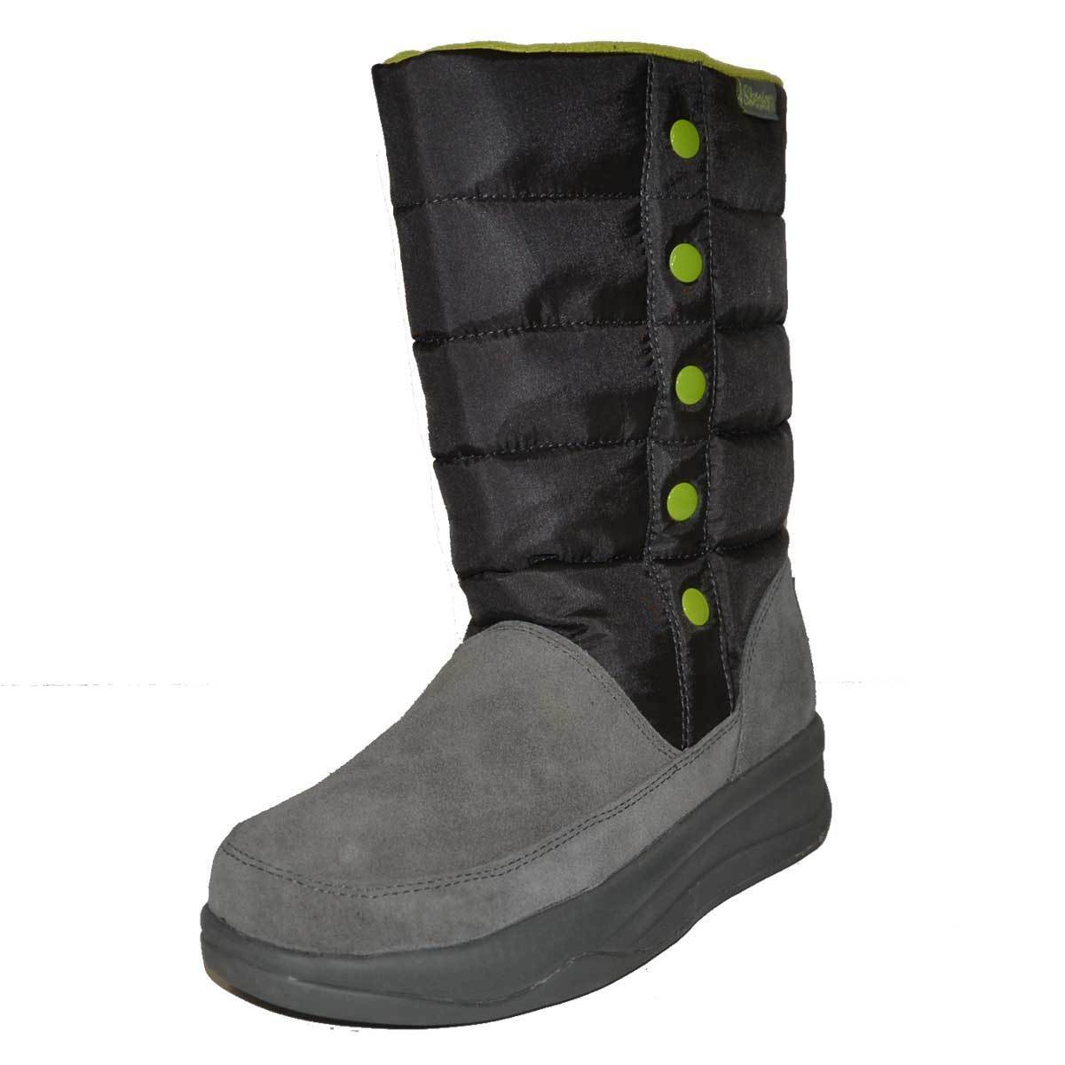 Skechers Australia Womens Shoes Grey Boots