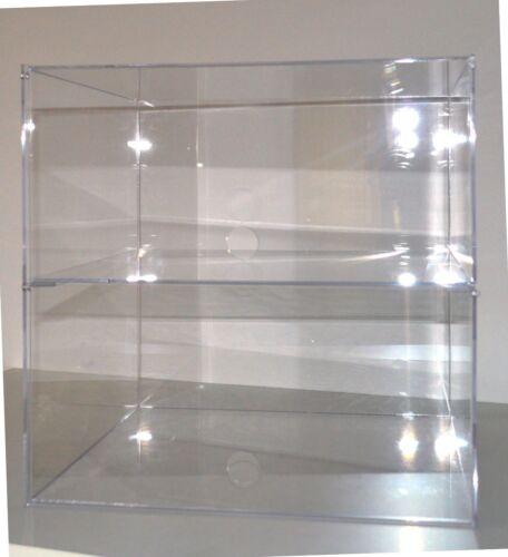 Bäckerei Sammler Tisch Vitrine Verkaufstheke Spuckschutz Standregal Acryl Glas