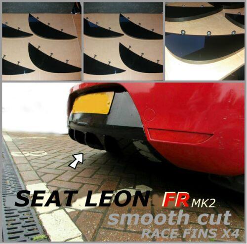 seat leon fr diffuser fins//cupra fr diffuser//seat leon fr mk2 diffuser fins FR..