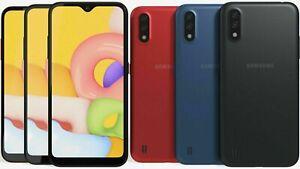 """NEW Samsung Galaxy A01 16GB 2GB Ram SM-A015M/DS FACTORY UNLOCKED 5.7"""" Dual SIM"""