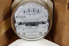 NOS Duncan Landis Gyr Three Stator Kilowatt Hours Meter 9402-2585 MT-9S Electric