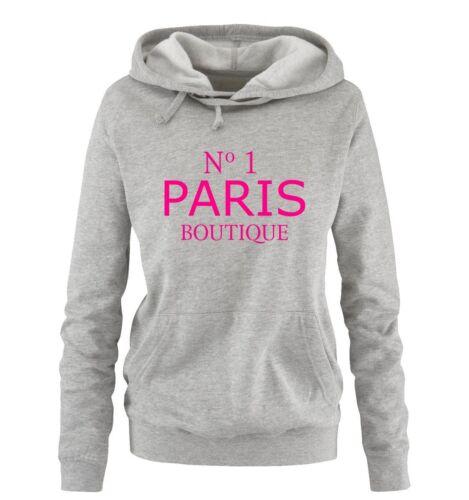No1 PARIS BOUTIQUE Damen HoodieNEW COOL TREND Comedy Shirts