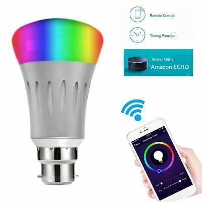 B22 E27 Smart Remote Light Bulb + Wifi Plug Socket For Echo Alexa Google Home