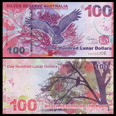 One Bill Authentic Australia Paper Money $2 Bill Brand New 2016 Jan 1 Issued